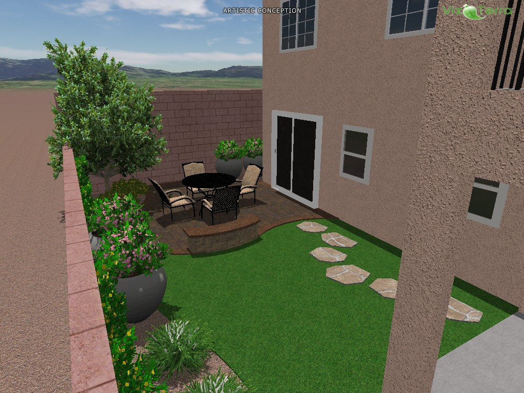 3d landscape designs las vegas landscaping for 3d garden design ideas