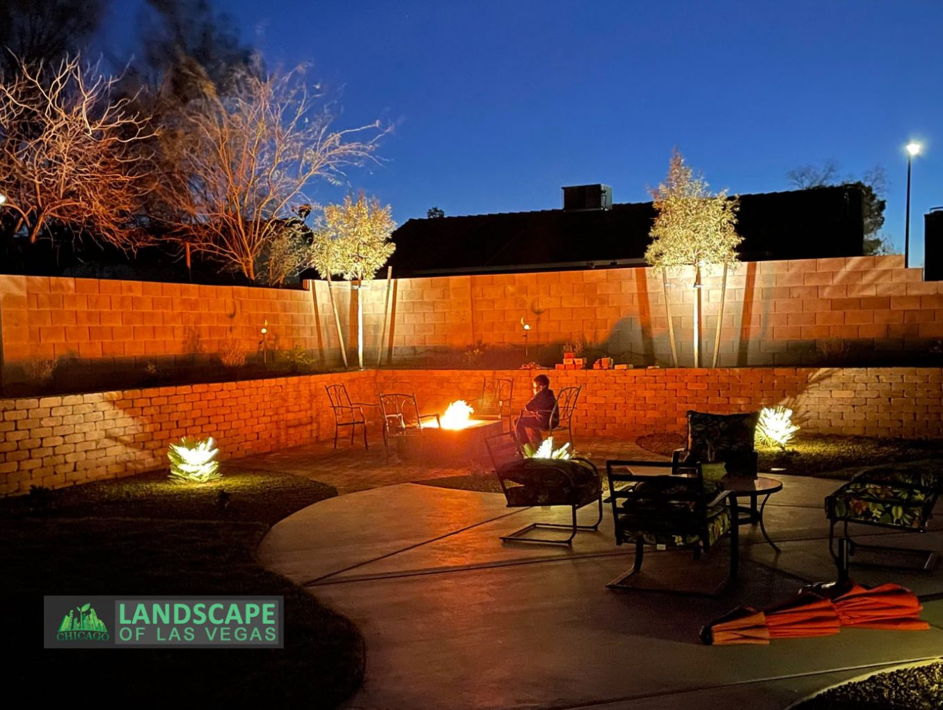 Fire Pit Design & Build for those Cool Las Vegas Nights!